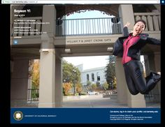 Tip: Before you graduate, take photos on the UC Berkeley campus to use as your custom background.