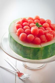 Watermelon cake. Sometimes the simplest ideas are the best.