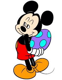 Mickey Mouse - Easter