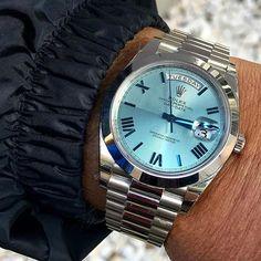 Happy Tuesday DAY DATE 40 platinum Ref 228206 | http://ift.tt/2cBdL3X shares Rolex Watches collection #Get #men #rolex #watches #fashion