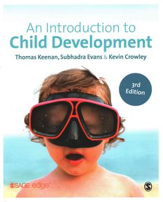 An Introduction to Child Development, Third Edition provides undergraduate students in psychology and other disciplines with a comprehensive survey of the main areas of child development, from infancy