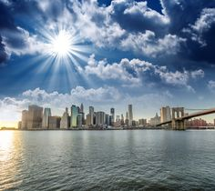 ¿Quieres un amanecer así? #NuevaYork te permite vivir esa experiencia, una ciudad increíble de norte a sur, de este a oeste; con atracciones y vivencias que solo allí existen, ¡no te lo pierdas!