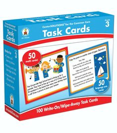 Task Cards Learning Cards 100ct Grade 3Task Cards Learning Cards 100ct Grade 3,