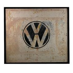Vintage VW sign #graphic