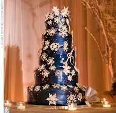 Dark Blue wedding cake