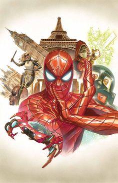 Amazing Spider-Man #9 - Alex Ross