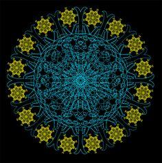 Clockwork Flower Mandala