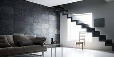 Bildresultat för fondväggar vardagsrum skiffer Slate, Stairs, African, Table, Projects, Furniture, Home Decor, Antigua, Home Decoration