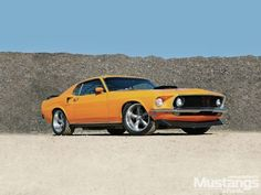 1969 Mustang - Always Grabber Orange: When you've been racing circle tracks for 20 years straight, there isn't a lot of time for hot rods at home. That all changed when Dave Neumann hung up his racing helmet and set out to build something that could still go fast, but was a bit more user friendly on the street...