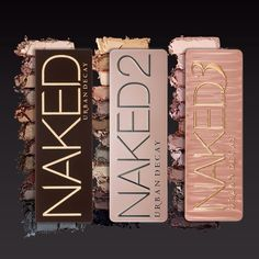 Urban Decay Naked...I want naked 3 comes out dec. 13th supposedly at Ulta...would still be so happy to get naked 2!