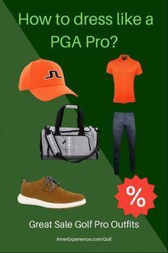 What the golf PGA Pros dress? Golf Attire, Golf Outfit, Mens Golf Fashion, Golf Pga, Used Golf Clubs, Golf Training Aids, Golf Club Sets, Golf Stores, New Golf