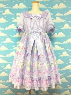 Jewel Marine OP in Lavender from Angelic Pretty - Lolita Desu