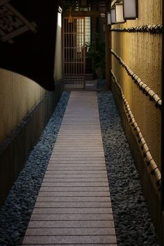 Back pathway in Kyoto, Japan