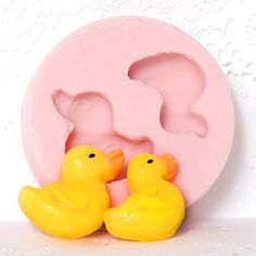 Rubber Duck Food Grade Mold Flexible to make duck by MoldMeShapeMe, $6.00