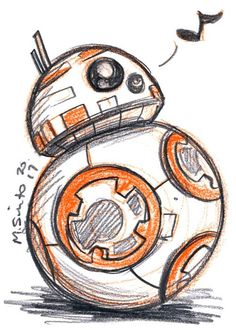 m-sciuto Droid sketch cards …just some new little droid sketches to celebrate Force Friday! Disney Drawings Sketches, Star Wars Drawings, Art Drawings Sketches Simple, Pencil Art Drawings, Cartoon Drawings, Cute Drawings, Beautiful Drawings, Star Wars Desenho, Cuadros Star Wars