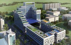 Krasa Centrade Buiness Park Noida 3D View