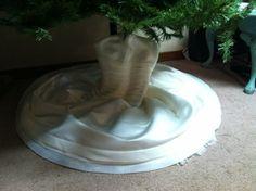 Wedding dress repurpose on pinterest christmas tree skirts wedding