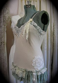 pinterest shabby chic diy upcycled redone clothes - Yahoo Image Search Results