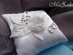 MaZulu / svadobný vankúšik na obrúčky