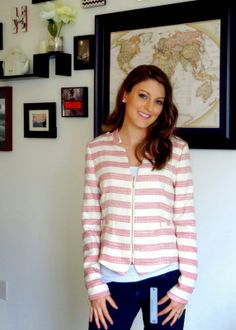 Love the jacket Up... Up... and Away: Stitch Fix February 2014 Review