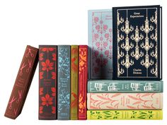 This set of ten Penguin Classics are all hardcover books with bindings designed by Coralie Bickford-Smith – each one is unique and highly decorative. Beautifully designed works of classic literature make great gifts.