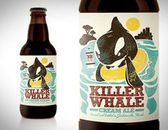 Killer Whale Cream Ale by Kendrick Kidd (Jacksonville), via Oh Beautiful Beer