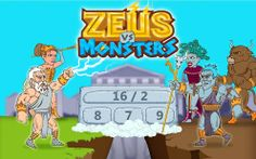 Zeus vs Monsters is a new math game developed by Peaksel. It combines Greek Mythology and mathematics, thus it's great educational adventure for kids of all ages!! Free to download!!
