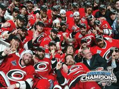 2006 Stanley Cup Champions.  Carolina Hurricanes.
