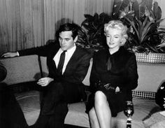 25/02/1956 Retour à Hollywood - Divine Marilyn Monroe