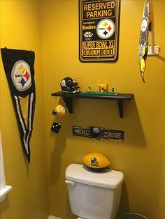 Pittsburgh Steelers Bathroom Art Decor