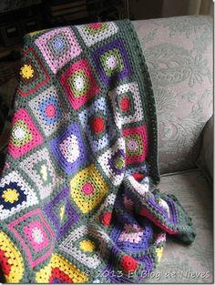 Crochet Afghan - Granny trow