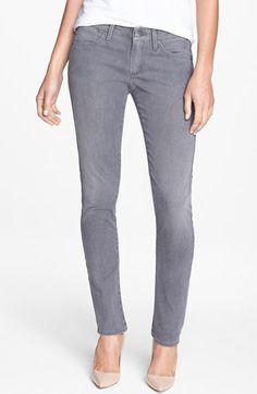 A Gold E 'Chloe' Slim Straight Leg Jeans (Lyon)