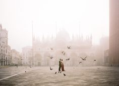 Valentino Inspired Elopement in Venice   Wedding Sparrow   Archetype Photography