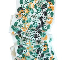 Green Forest Table Runner on @BRIKA