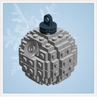 DIY Lego ornaments -- instructions for a variety of Lego ornaments on this site