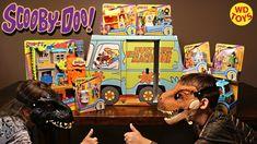 New Giant Scooby Doo Surprise Box Warner Bros Imaginext Indoraptor Vs T-...