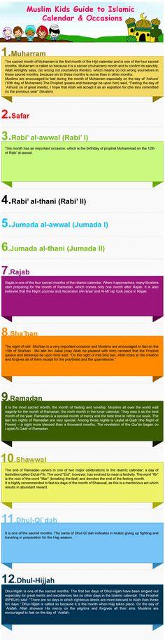 Islamic Calendar & Religious Occasions (For Kids) - Moms & Dads - Family - OnIslam.net
