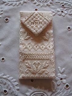 With Needle and Thread: Hardanger Scissor Case via Nordic Needle's Accessories Club