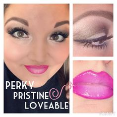 Perfectly pink ombre lipgloss lip liner lips