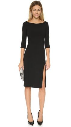 ¡Consigue este tipo de vestido por la rodilla de BLACK HALO ahora! Haz clic para ver los detalles. Envíos gratis a toda España. Black Halo Marissa Sheath Dress: A sheath profile and boat neckline give this Black Halo midi dress a ladylike aesthetic. Hidden zips at hem and in back. 3/4 sleeves. Lined. Fabric: Stretch suiting. Shell: 62% polyamide/33% viscose/5% elastane. Lining: 95% polyamide/5% elastane. Dry clean. Made in the USA. Imported fabric. Measurements Length: 41in / 104cm, from…