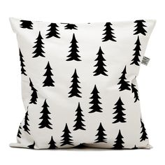 Coussin+sapins+noirs