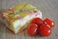 quiche sans pate au fromage