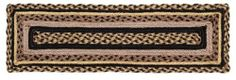 """Colfax Jute Stair Tread Rectanglar 8.5x27"""" by Victorian Heart. $11.20. High end quality and workmanship!. See Product Description below for more details!. All cloth items in our collections are 100% preshrunk cotton. All braided items (like rugs, baskets, etc.) are 100% jute. Extensive line of matching items and accessories available! (Search by Collection name). Product measurements and additional details listed in title and/or Product Description below.. 100% Jute"""