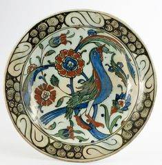 Glazes For Pottery, Ceramic Pottery, Ancient Near East, Turkish Tiles, Islamic Art, Earthenware, Traditional Art, Contemporary Artists, Tea Pots