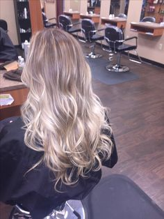 Blonde balayage #icy #blonde #balayage #hair