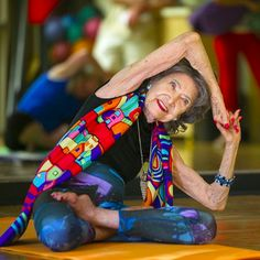 97-Year-Old Yoga Instructor