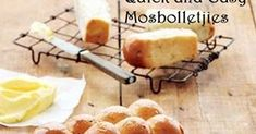 Maryna Charol Gouws Quick and easy mosbolletjies Makes: 120 rusks when dried Preparation time: hours (including rising time. Light Golden Brown, Pastry Brushes, Loaf Pan, Melted Butter, Tray Bakes, South Africa, Biscuits, Bakery, Cookies