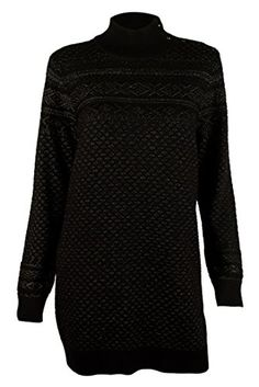 #Ralph #Lauren Women's Plus Size Fair-Isle Tunic Sweater; Ribbed mockneck with a five-button closure at the left side; Long sleeves with ribbed cuffs; Ribbed hem;...