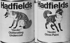 Cans of Paint by Hadfields