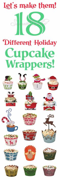 This week I have 18 cupcake wrappers for you!****Please Note****These designs have been uploaded into...